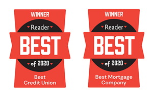 Frontwave SD Best of 2020 Awards for Best Credit Union and Best Mortgage Company